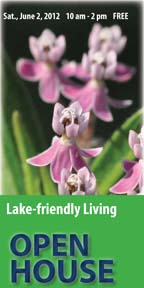 Lake-friendly Living OPEN HOUSE Graphic for Newsletter 2012