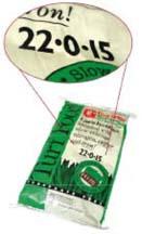 PhosphorusFreefertilizer bag